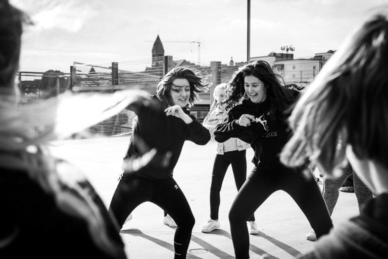 Tanzraum Remscheid Tanzbild Parkhaus Hip Hop